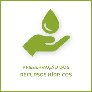 Preservação dos recursos hídricos